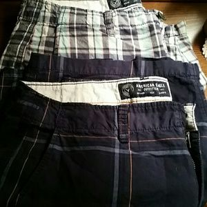 American Eagle Outfitters Other - Price drop American Eagle Mens Plaid Shorts Sz 33