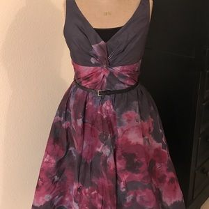 Lela Rose Dresses & Skirts - Beautiful Party Dress W/Fitted Bodice & Full Skirt
