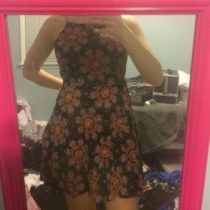 NWT low back halter dress