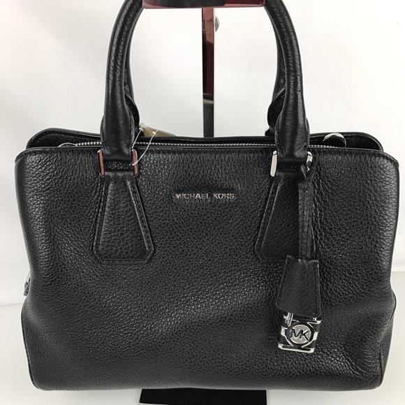 fa299e0284d8 Michael Kors Bags   Camille Medium Satchel Black   Poshmark
