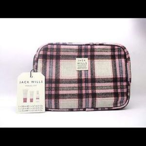Jack Wills Handbags - NEW Jack Wills flannel bag w/fragrance items