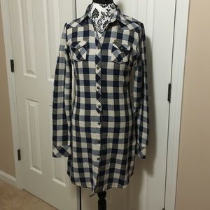 Maison Scotch Dresses & Skirts - Maison Scotch plaid dress tunic NWOT