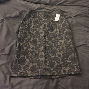NWT Banana Republic lace pencil skirt size 0