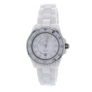 Oceanaut Accessories - Oceanaut White Dial White Ceramic Ladies Watch