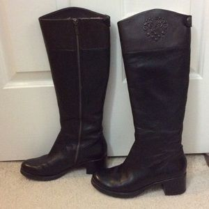 Vince Camuto leather boots for sale