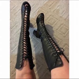 LF Shoes - Lace up boots