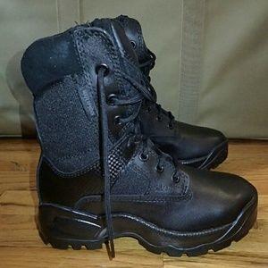 "5.11 Tactical Shoes - 5.11 Tactical Series Women's 8"" Black Boots 6"