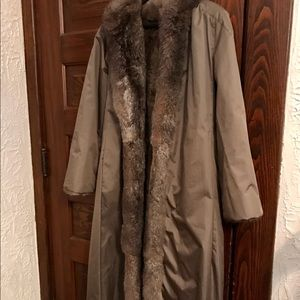 Jackets & Blazers - Reversible Beaver Coat to Raincoat with Belt
