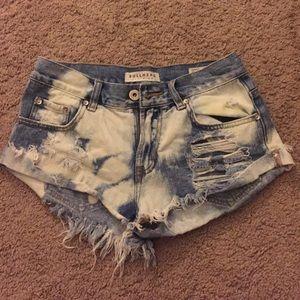 Bullhead slouchy shorts