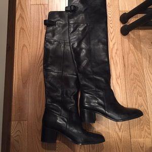 19e28561bd8 Aldo Shoes - 👢Aldo    Ceci over the knee black leather boots