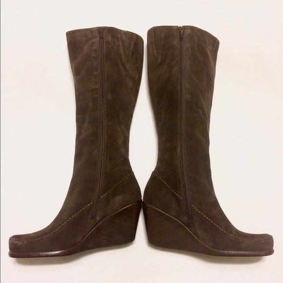 81 aerosoles shoes like new brown suede aerosole