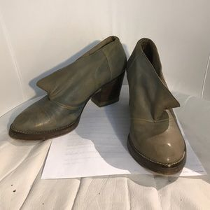 "Diesel Black Gold Shoes - Diesel ""Black Gold"" Leather Booties Size 37"