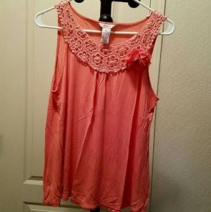 Candie's Tops - Candies Coral Tank Top