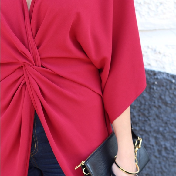 Tobi Dresses - Tobi red shirt/dress.