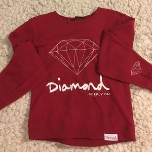 Diamond Supply Co. Tops - 🏄🏻‍♀️Diamond Supply Co Sweatshirt🏄🏻‍♀️