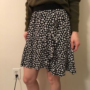 Anthropologie Dresses & Skirts - Maeve Anthropologie Button Printed Flouncy Skirt