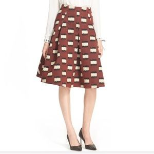 Anthropologie Hunter Bell NY Maddy ALine Skirt