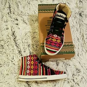Inkkas Black Spectrum High Top Sneakers