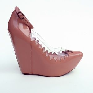 Jeffrey Campbell Shoes - NWOT Jeffery Campbell Audrey platform wedge