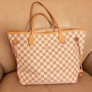 Louis Vuitton Handbags - Neverfull MM Azur