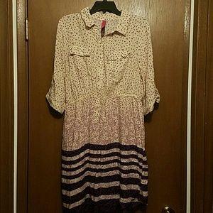 Button up dress!