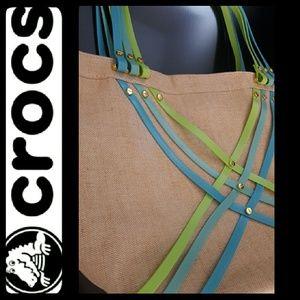 CROCS Handbags - Crocs Canvas Tote Bag