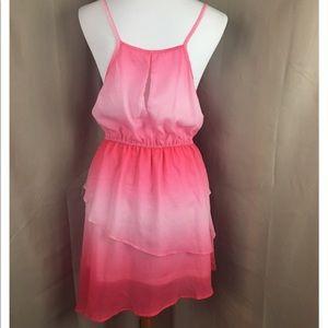 evelie Dresses - Evelie pink flowy dress