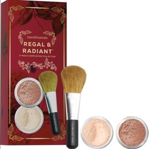 bareMinerals Other - Bare Minerals Regal Radiant 3 Piece MV Brush Kit