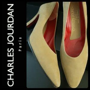 Charles Jourdan Shoes - Charles Jourdan Paris Suede Pumps