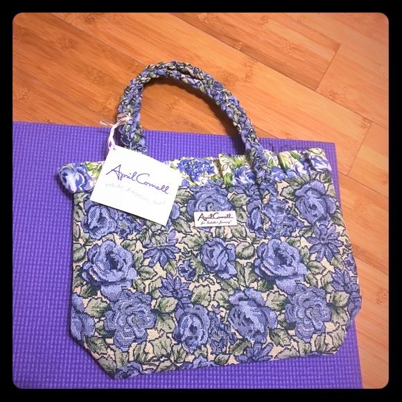 bfa1dfc67b NWT April Cornell Isabella s Journey carpet bag