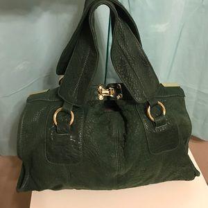 Bulga Handbags - Bulga Leather Purse - Hunter Green