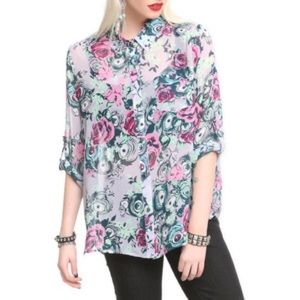 Iron Fist Tops - Iron Fist Peeper Creeper blouse👀🌸