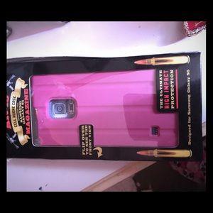 Gibson Accessories - Gibson pink ar-15 Samsung galaxy s5 case