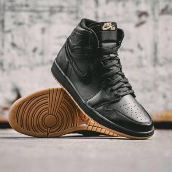 0f384b75fa2 Nike Shoes | New Air Jordan Retro 1 High Og 7y Black Gum | Poshmark