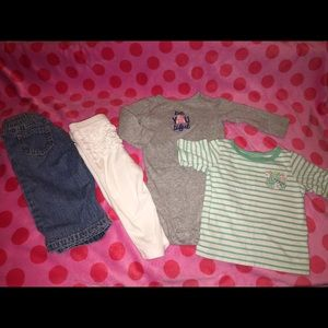 Carter's Other - Nice little Baby Girls 9mo Bundle🎈💜