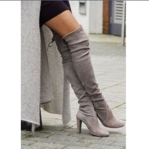 Posh Garden Shoes - 2 Sizes Left🔹The Gray Cumulous Boots