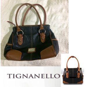 Tignanello Handbags - 🌺✨Tignanello Leather Satchel Bag