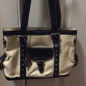 Tignanello Handbags - Woman's Canvas Tignanella handbag