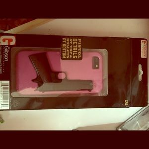 Gibson Accessories - iPhone 5/5s pink Gibson phone case