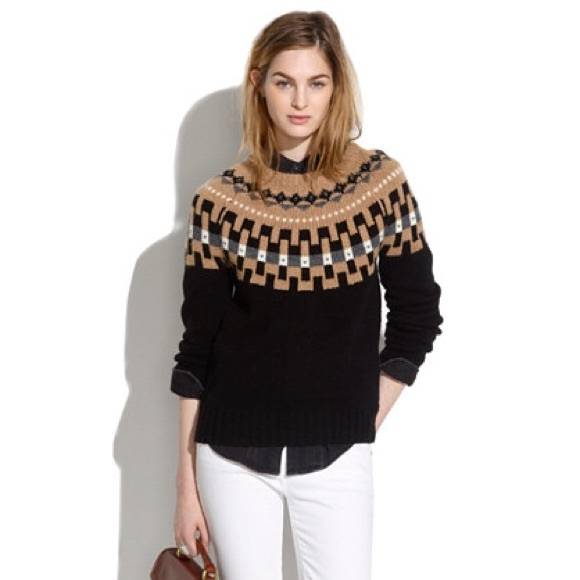 75% off Madewell Sweaters - Madewell fair isle sweater from ...