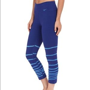 Nike Pants - Nike Legend tight dri-fit burnout crop NWT