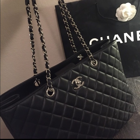 a3b2c45f03ee CHANEL Bags | Calfskin Classic Shopping Bag 2016 Fw | Poshmark