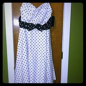 Stop Staring Dresses & Skirts - Humbly Haute Dress in Monochrome