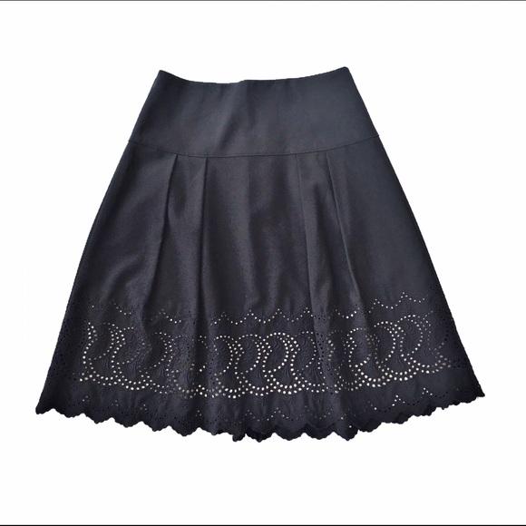 e60b67d1bb Ann Taylor Dresses & Skirts - Ann Taylor embroidered eyelet midi skirt