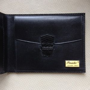 Pineider Other - Men's Ultra Fine Italian Leather Wallet ✨Pineider