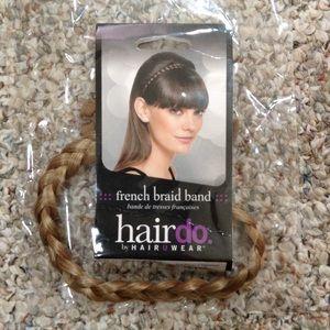 Hairuwear Accessories - French braid band blonde Hairuwear +bonus