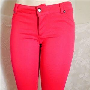 Pants - Pink jeggings!