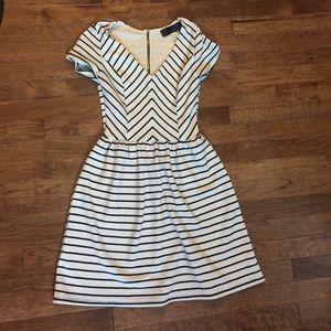Francesca's Collections Dresses & Skirts - Francesca's Striped Zip Dress - S