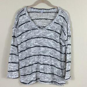 Splendid sweater knitted top S stripe long sleeve