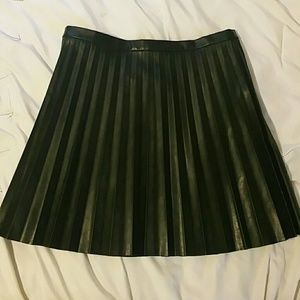 J. Crew Dresses & Skirts - NWT J.Crew leather pleated mini